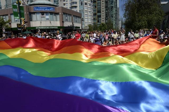 世界最大の「LGBTプライドパレード」開催、サンパウロ